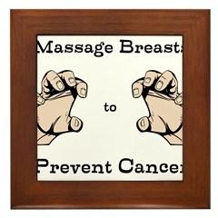 Prevent Cancer Framed Tile