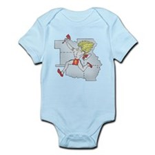 Throwback Chiefs Infant Bodysuit