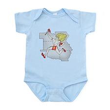 Throwback Chiefs Infant Bodysuit