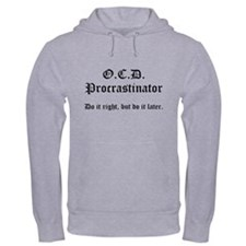 OCD Procrastinator Jumper Hoodie