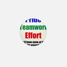 Teamwork Pride Mini Button