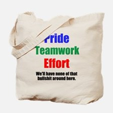 Teamwork Pride Tote Bag