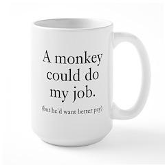 Monkey Job Mug