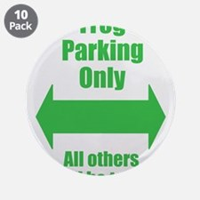 """Frog Parking 3.5"""" Button (10 pack)"""