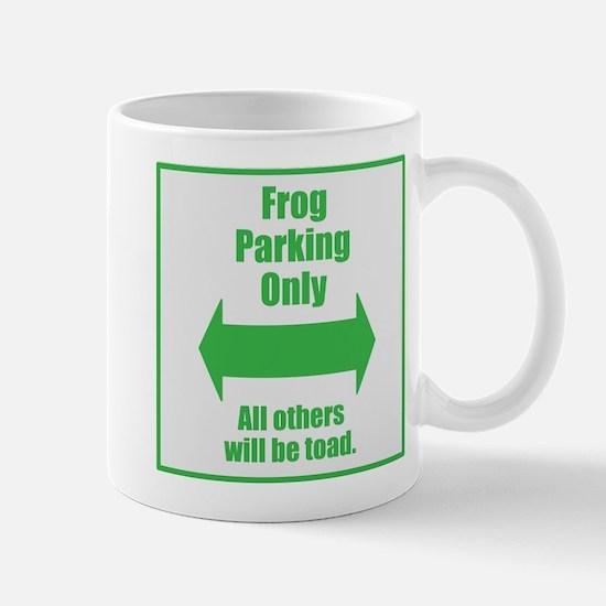 Frog Parking Mug