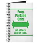 Frog Parking Journal