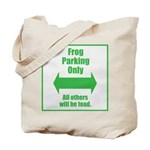 Frog Parking Tote Bag