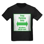 Frog Parking Kids Dark T-Shirt