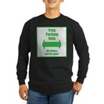 Frog Parking Long Sleeve Dark T-Shirt