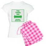 Frog Parking Women's Light Pajamas