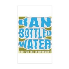 Ban Bottled Water Decal