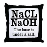 Base A Salt Throw Pillow