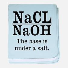 Base A Salt baby blanket