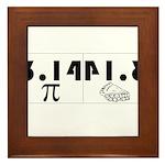 Pi Pie Framed Tile