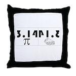 Pi Pie Throw Pillow