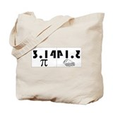 314 pie Totes & Shopping Bags