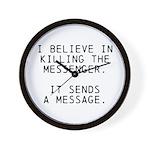 Kill Messenger Wall Clock
