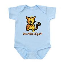 On The Spot Leopard Infant Bodysuit