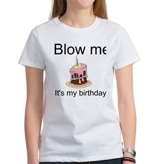 Birthday Blow Women's T-Shirt