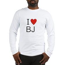 Unique Bj Long Sleeve T-Shirt