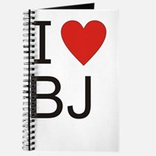 Cute I heart steak and bj Journal