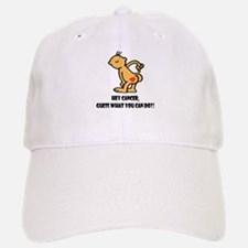 Hey Cancer -- Cancer Awareness Baseball Baseball Cap