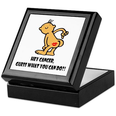 Hey Cancer -- Cancer Awareness Keepsake Box