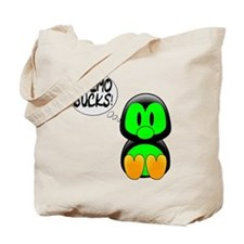 Chemo Sucks -- Cancer Awareness Tote Bag