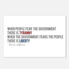 """""""Tyranny vs. Liberty"""" Postcards (Package of 8)"""