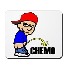 Piss On Chemo -- Cancer Awareness Mousepad