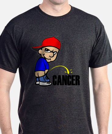Piss On Cancer -- Cancer Awareness T-Shirt
