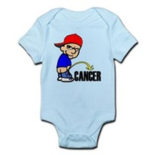 Piss On Cancer -- Cancer Awareness Infant Bodysuit