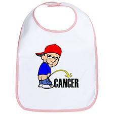 Piss On Cancer -- Cancer Awareness Bib
