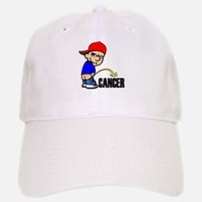 Piss On Cancer -- Cancer Awareness Baseball Baseball Cap