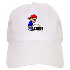 Piss On Cancer -- Cancer Awareness Baseball Cap