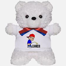 Piss On Cancer -- Cancer Awareness Teddy Bear