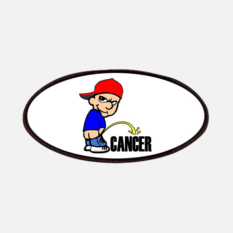 Piss On Cancer -- Cancer Awareness Patches