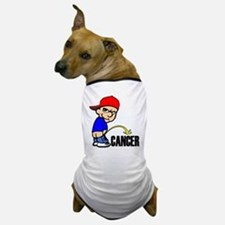 Piss On Cancer -- Cancer Awareness Dog T-Shirt