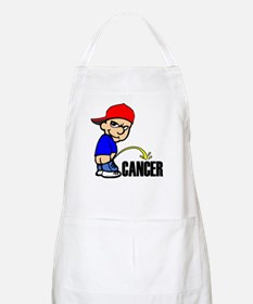 Piss On Cancer -- Cancer Awareness Apron