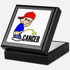 Piss On Cancer -- Cancer Awareness Keepsake Box