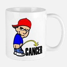 Piss On Cancer -- Cancer Awareness Mug