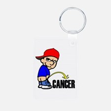 Piss On Cancer -- Cancer Awareness Keychains