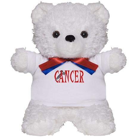 Screw Cancer -- Cancer Awareness Teddy Bear