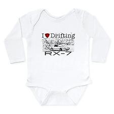 Cute Rx7 mazda Long Sleeve Infant Bodysuit