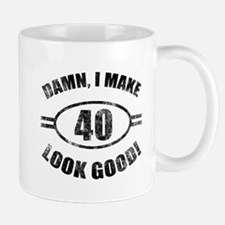 Damn Funny 40th Birthday Mug