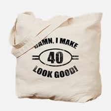 Damn Funny 40th Birthday Tote Bag