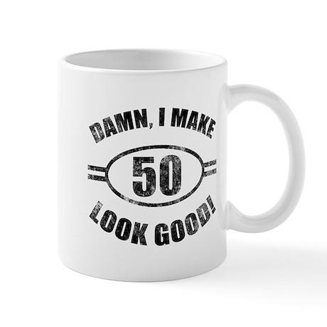 Damn Funny 50th Birthday Mug