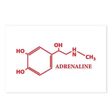 Adrenaline Molecule Postcards (Package of 8)