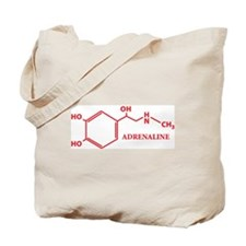 Adrenaline Molecule Tote Bag