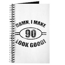 Damn Funny 90th Birthday Journal